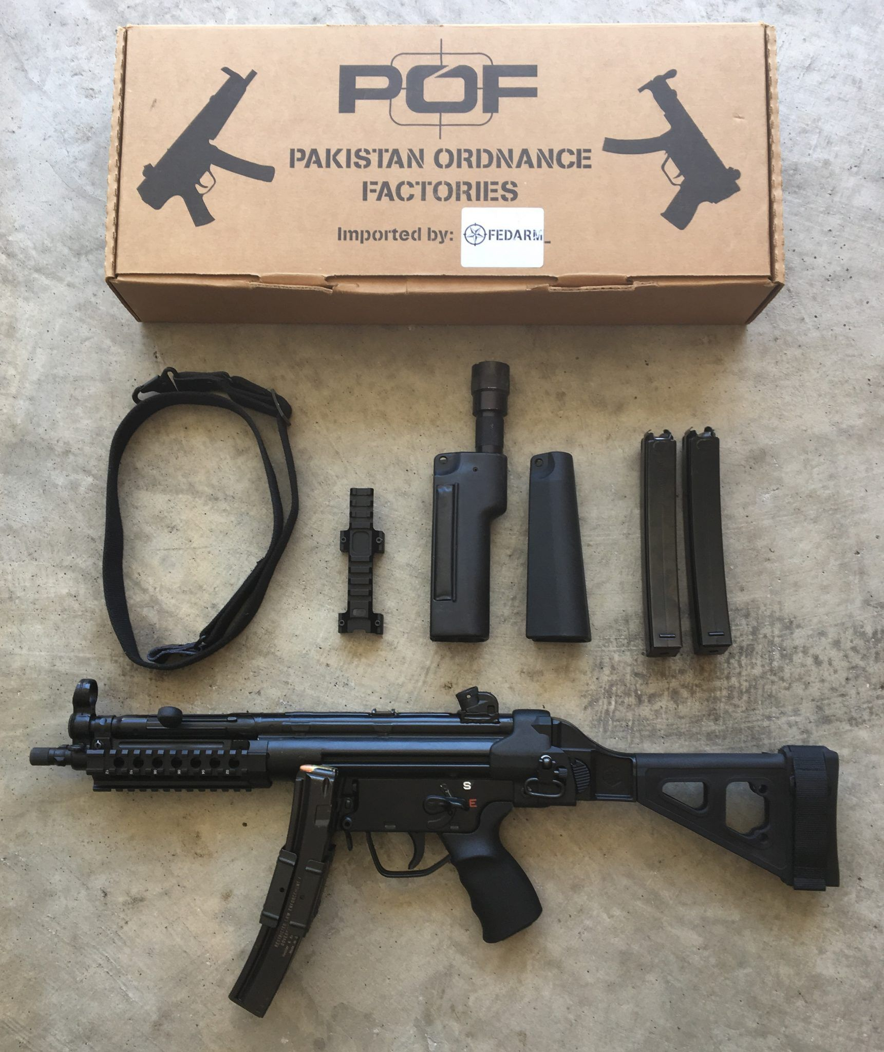 POF MP5 with accessories | Auction Armory | Handguns | Guns, Hand
