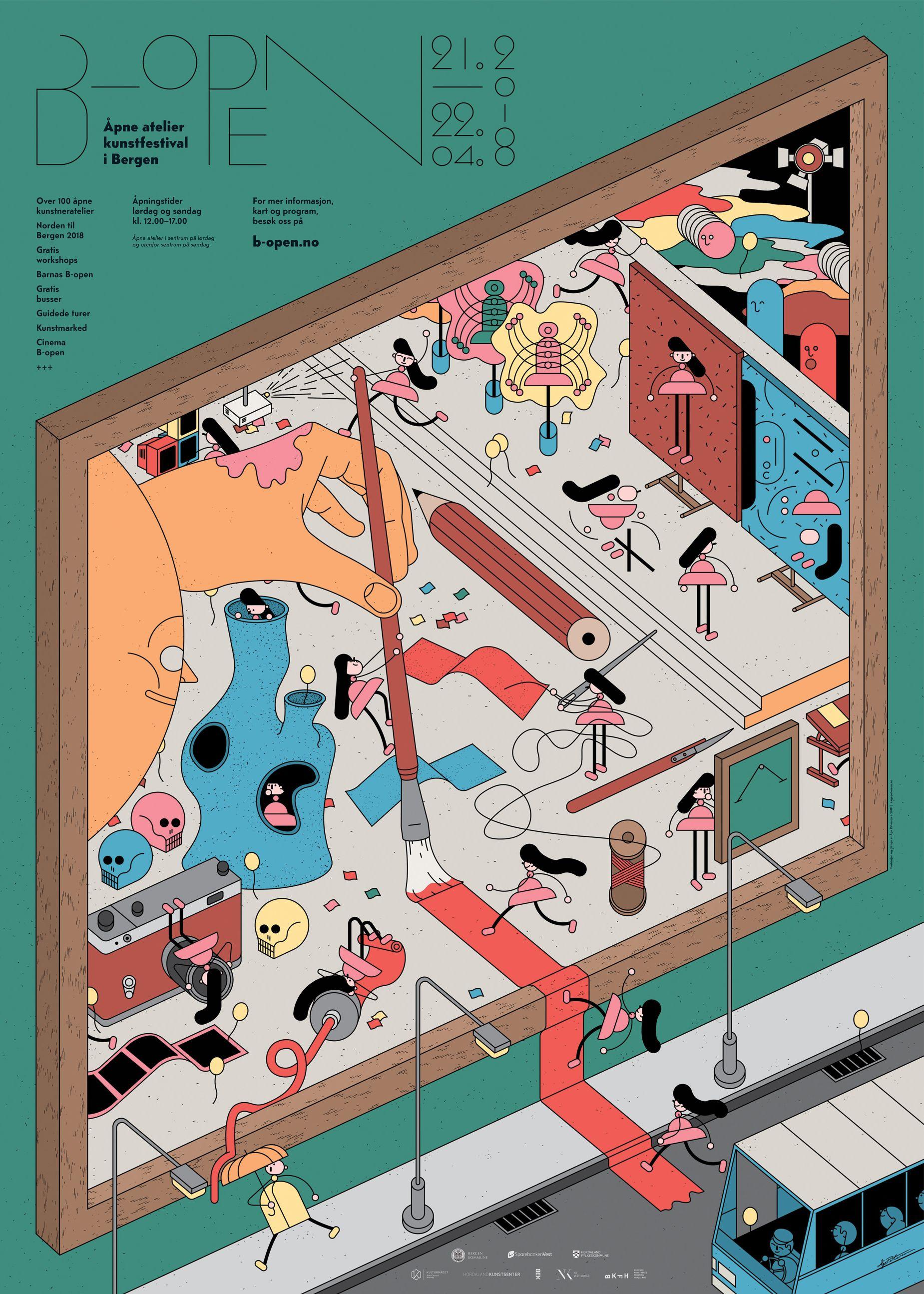 Pin By Peter Lundmark On Illustration Open Art Art Festival Art