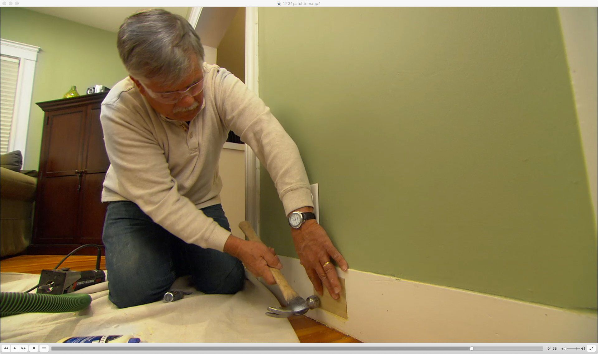 How to patch a hole in wood trim wood trim wood