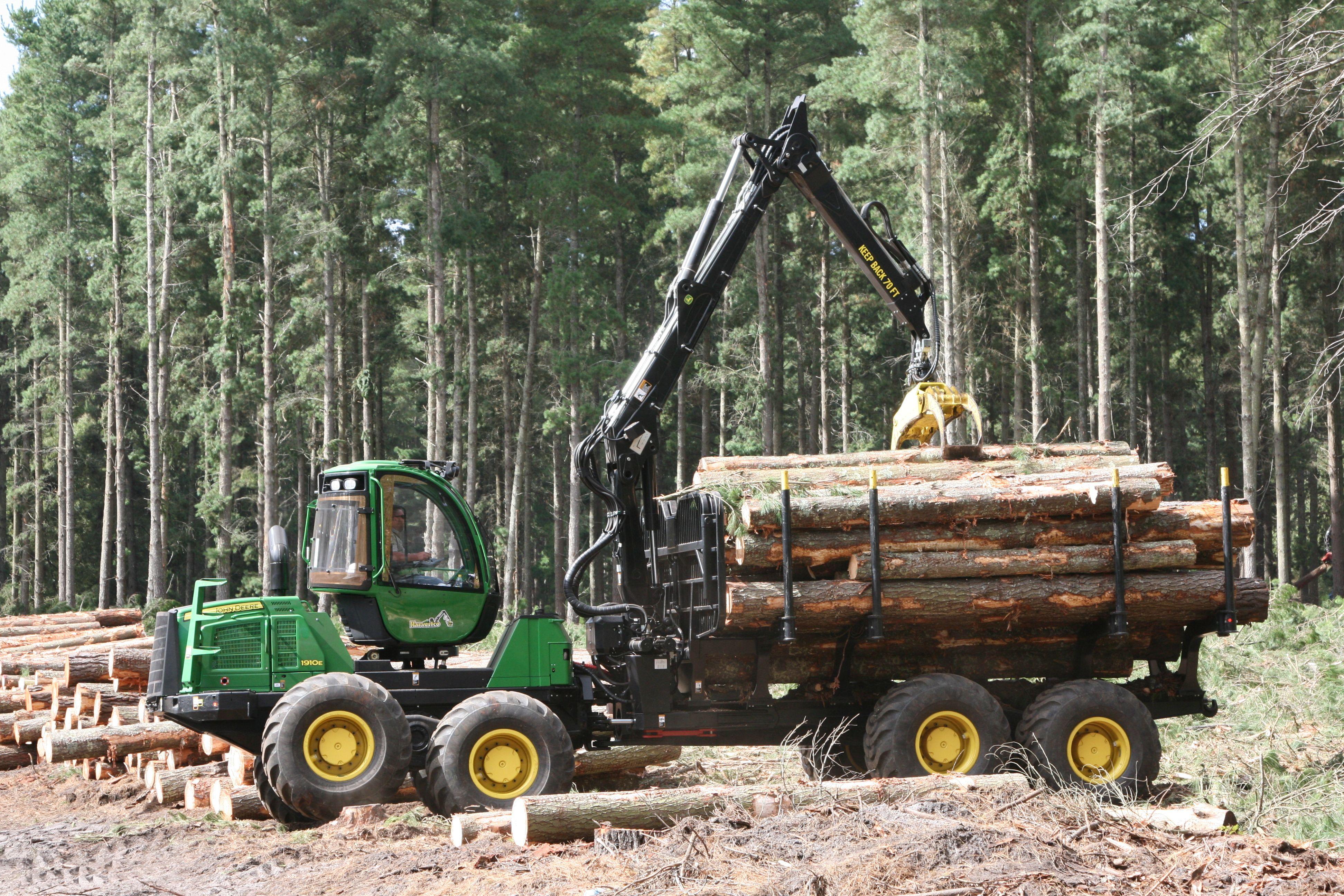 John Deere Forestry   Patrick Lumber Company <3's   Logging