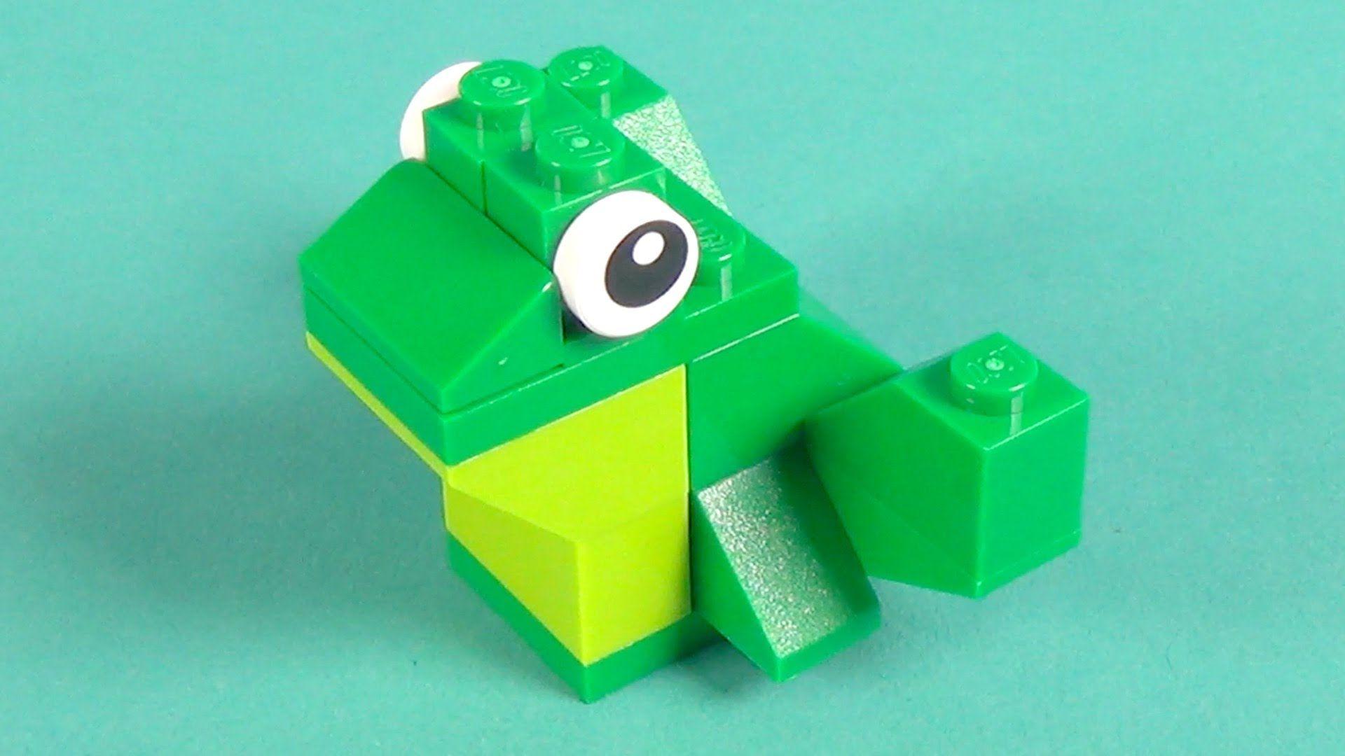 Lego Frog Building Instructions - Lego Classic 10698