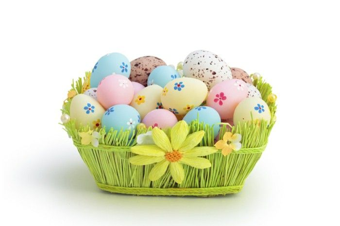 Decode yourself nostereier make coloring easter basket easter easter negle Image collections