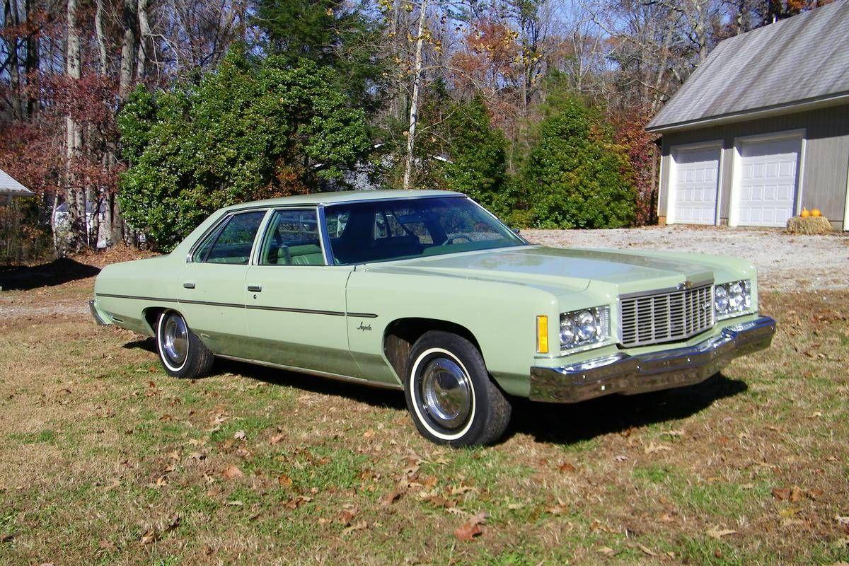 1975 Chevrolet Impala 4 Door Classic Cars Chevy Chevrolet