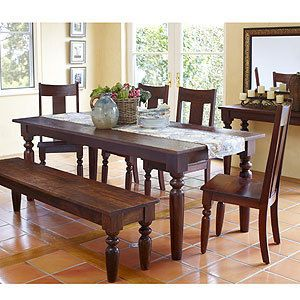 Dining Table With 2 Benches World Market Sourav Collection