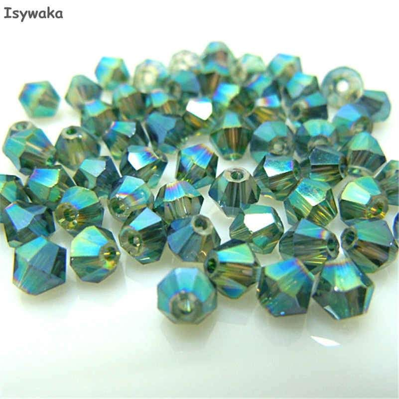 Beads Jewelry & Accessories 100pcs New Rose Color 4mm Bicone Crystal Beads Glass Beads Loose Spacer Beads Diy Jewelry Making Austria Crystal Beads Cheap Sales