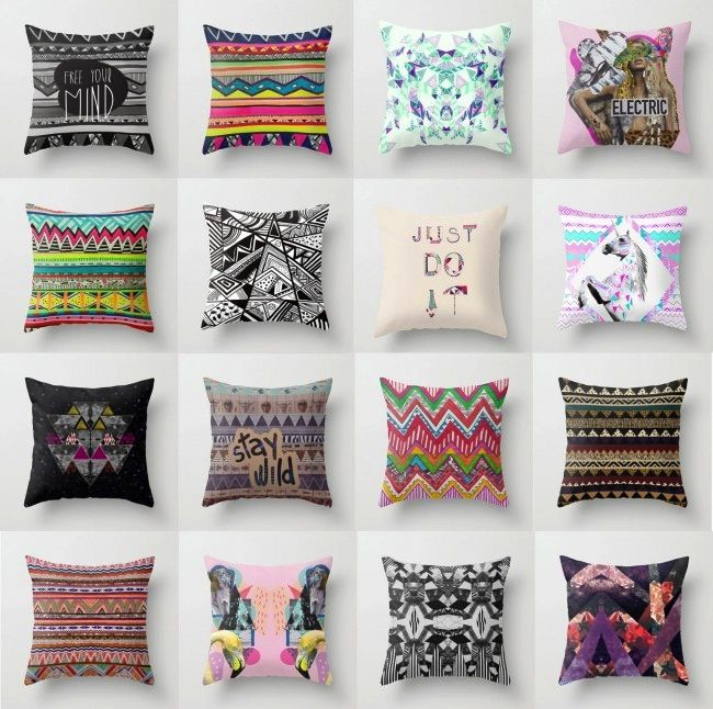 Ordinaire Aztec Pillows On The Interior Collective