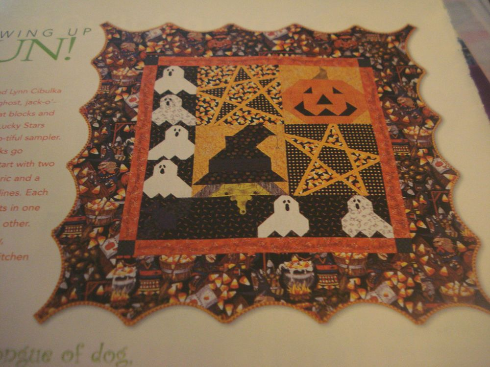 Quilt pattern witches workshop sampler pieced paper pieced
