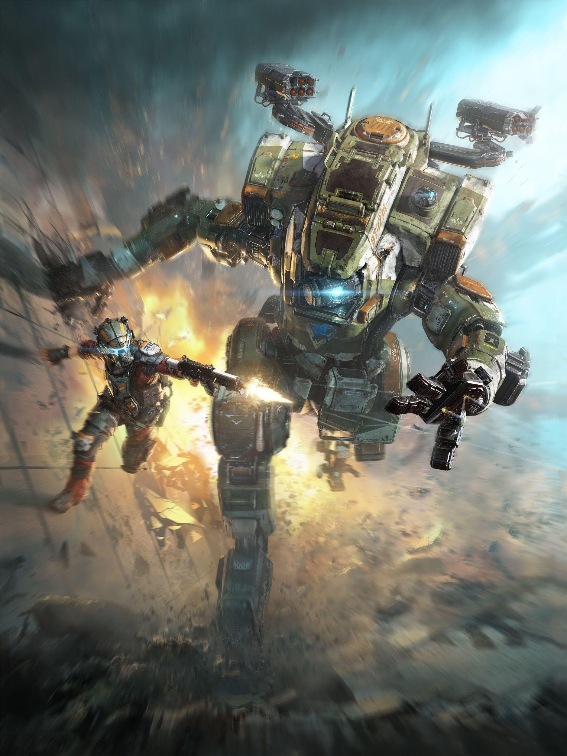 Titanfall 2 Box Art Tu Bui Titanfall Titanfall Game Xbox One Games