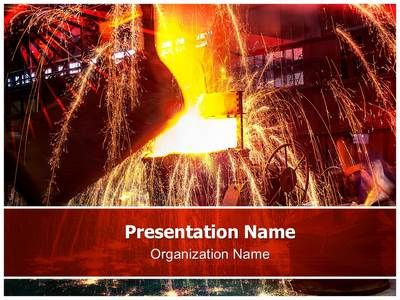 Metal casting powerpoint template is one of the best powerpoint metal casting powerpoint template is one of the best powerpoint templates by editabletemplates toneelgroepblik Choice Image
