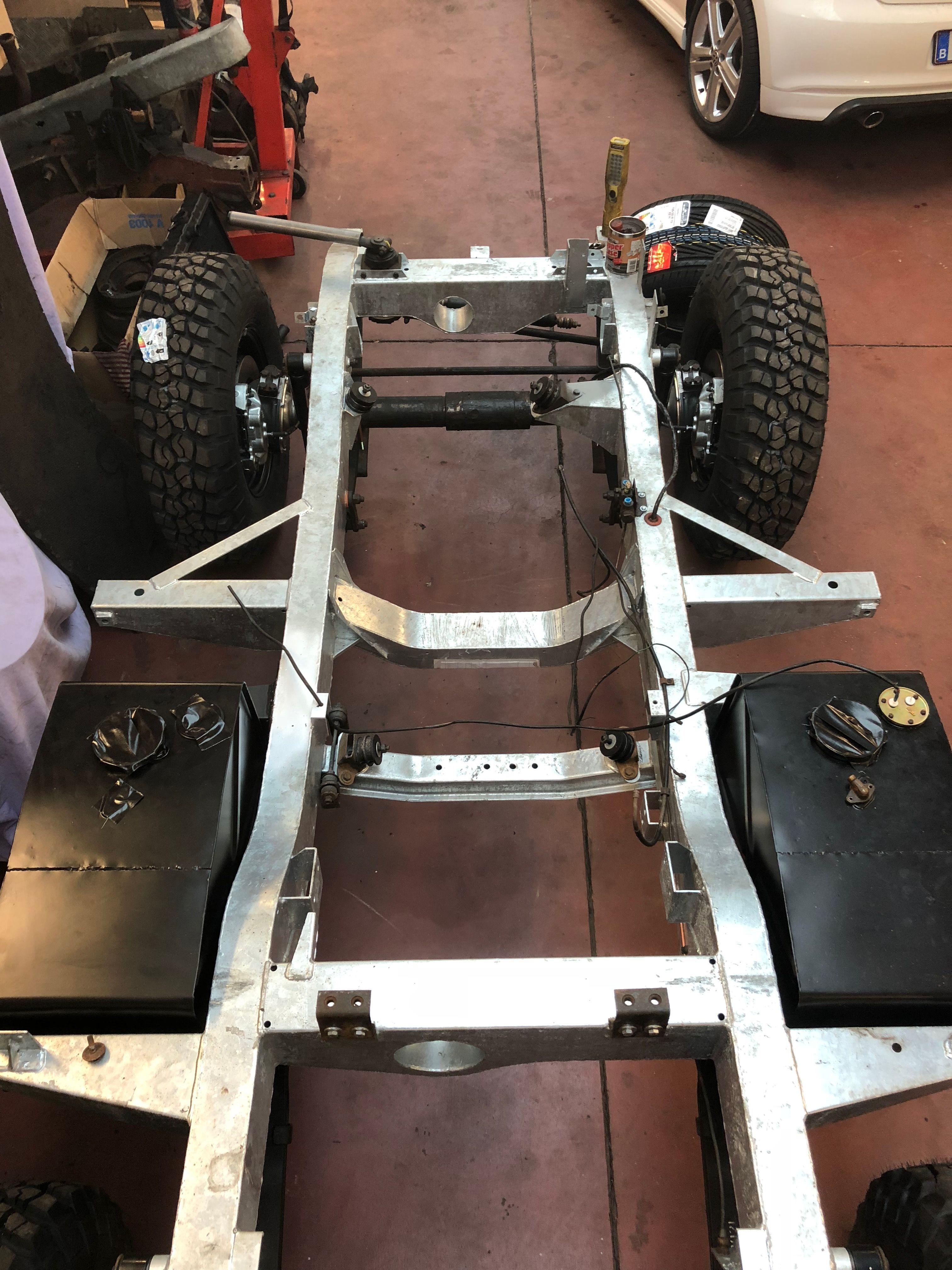 Land Rover Series I,II & III Restoration, Rebuild and