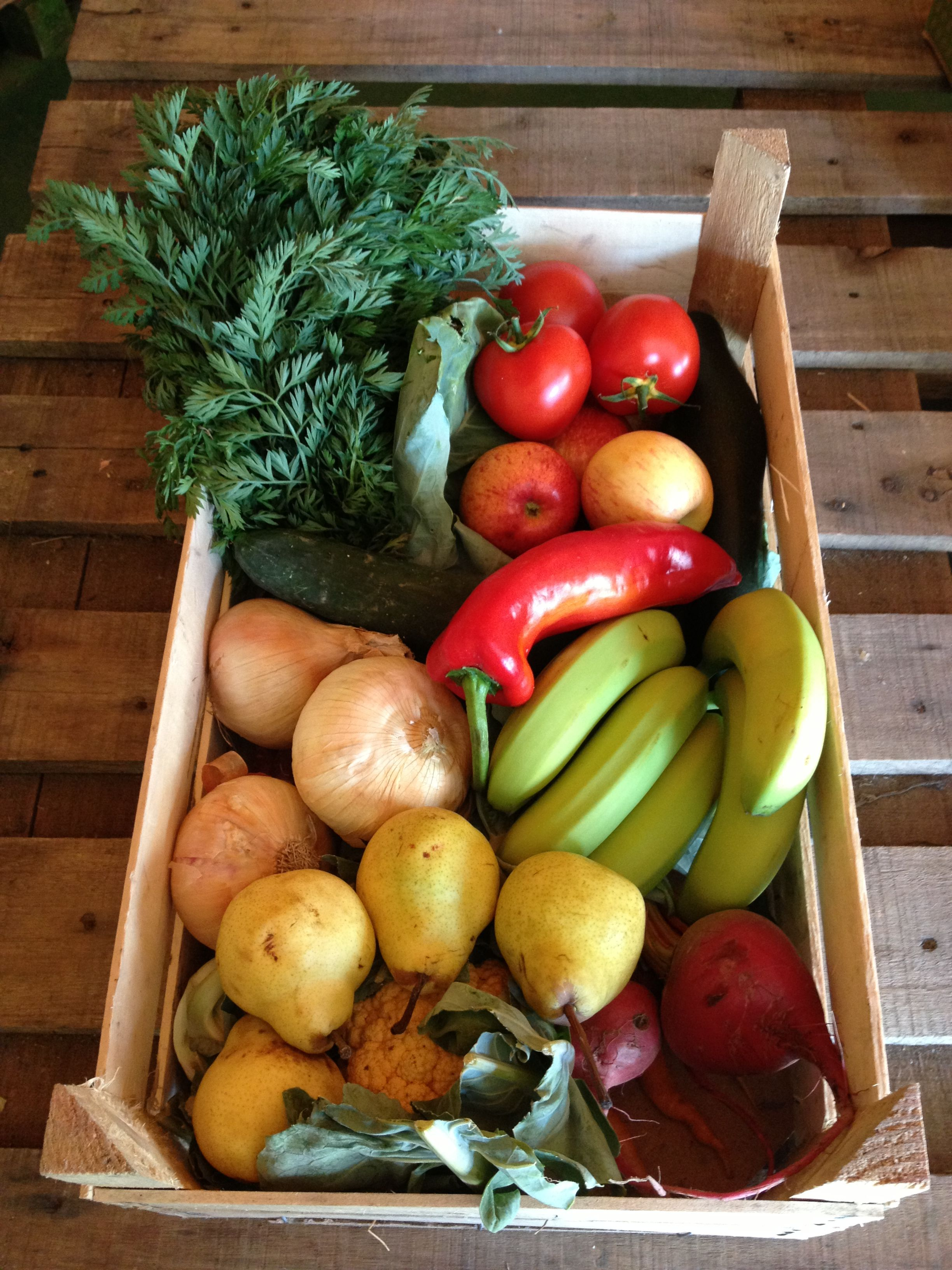 Large Fruit And Vegetable Box From Bodice Of Holt