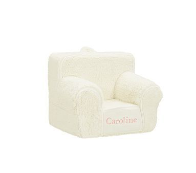 Pz My First Anywhere Chair Insert Slipcover Set Cream