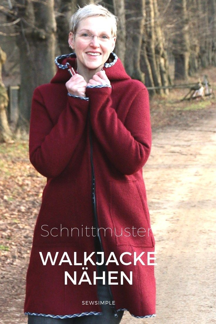 Photo of Walk-Jacke nähen in großen Größen: Schnittmuster Lovis | 32-60