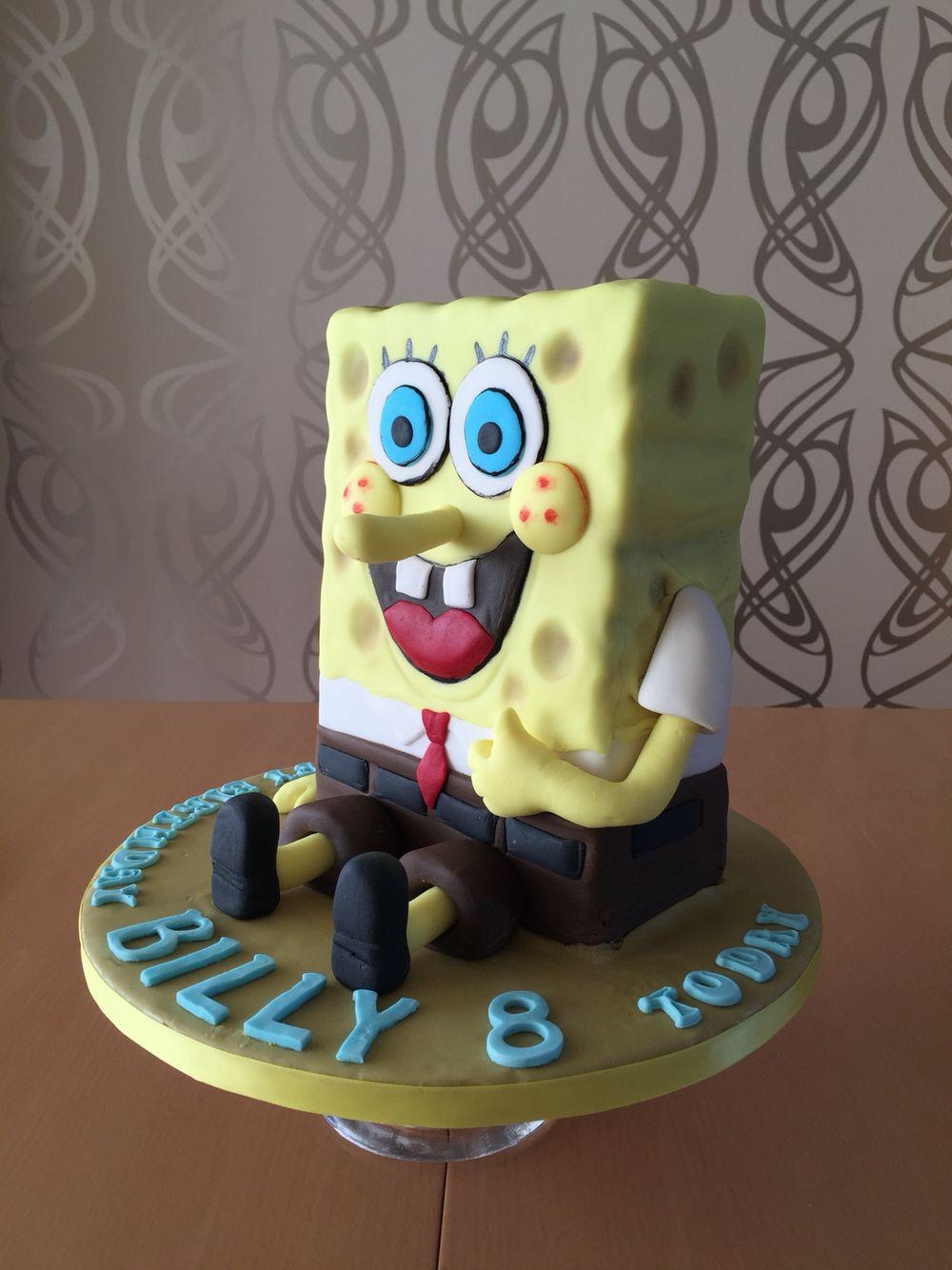 Spongebob Cake My Cakes Cake Birthday Cake Spongebob
