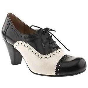 dye shoes, Black and white pumps