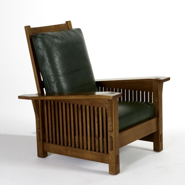 Morris Chair- similar to the LazyBoy recliner in green leather we got at GW.  sc 1 st  Pinterest & Morris Chair- similar to the LazyBoy recliner in green leather we ... islam-shia.org