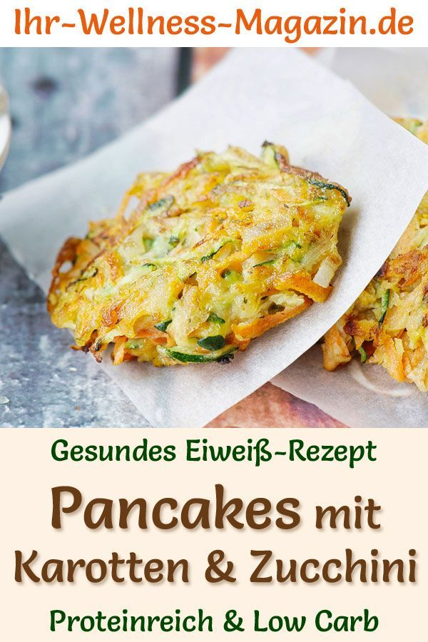 Photo of Protein-Pancakes Karotte-Zucchini – Low-Carb-Eiweiß-Pfannkuchen-Rezept