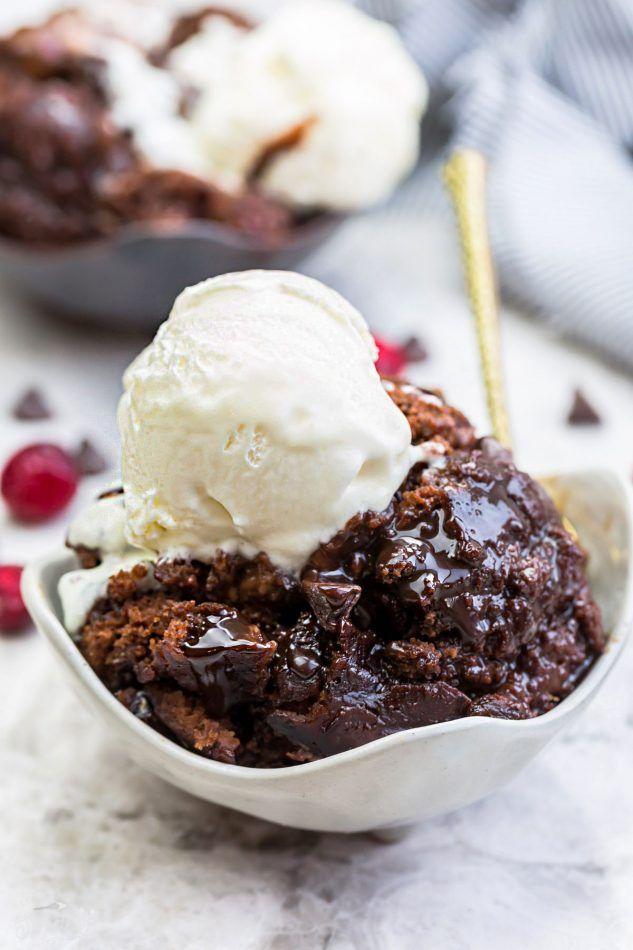 Slow Cooker Hot Fudge Pudding Cake An Easy Crock Pot Dessert Perfect