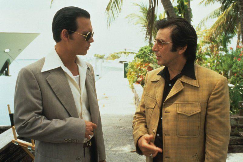 Johnny Depp and Al Pacino in Donnie Brasco