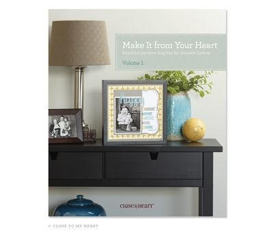Close to my Heart has this wonderful idea book/ how to guide... It teaches you how to cut pages and cards step by step! I love these book...