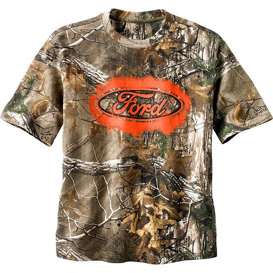 61aa60da3d44b Show your brand loyalty in full Realtree® Xtra Camo. Rugged 100% cotton T  shirt is built for the guy who is as tough as his truck.
