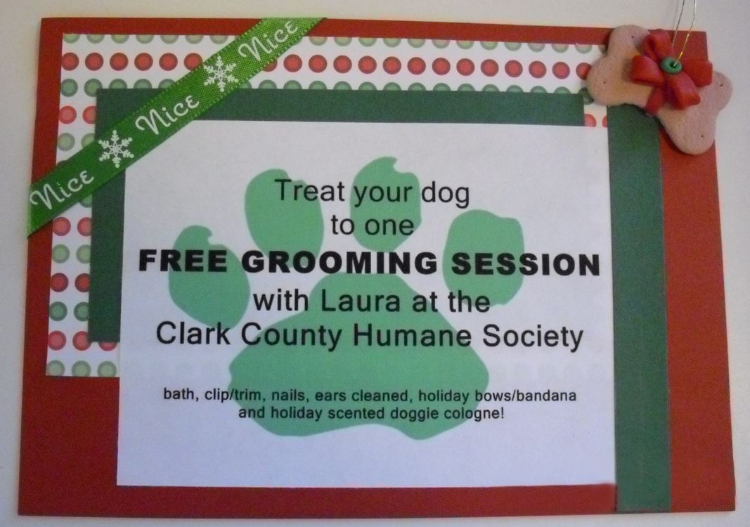 Gift Certificate From Grooming On The Go A Great Value To Get