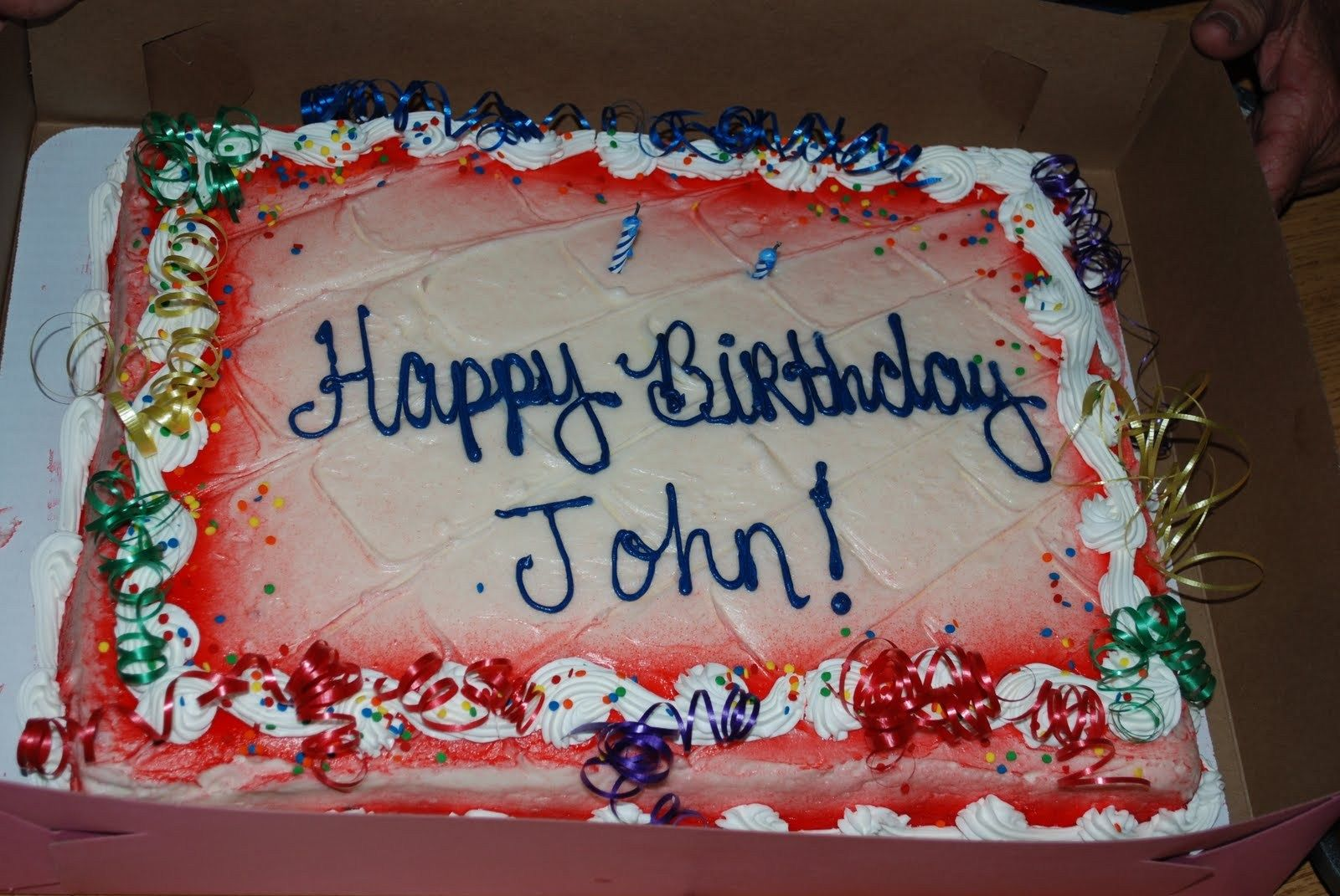 Incredible 27 Beautiful Image Of Happy Birthday John Cake With Images Personalised Birthday Cards Sponlily Jamesorg