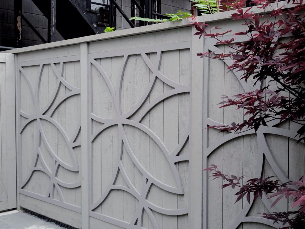 Detailed fence