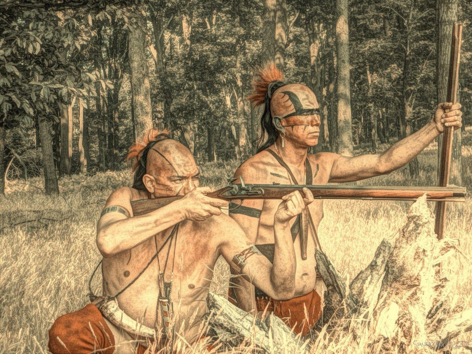 a history of native americans and war The history of native americans in the united states began in ancient times tens of thousands of years ago  after the war many native americans relocated to urban .