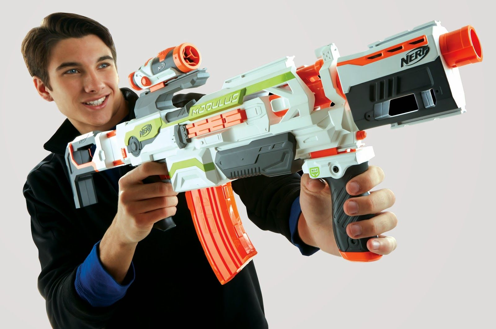 Head over to Walmart.com where you can score this Nerf N-Strike Elite Mega  CycloneShock Blaster for just $10.99 (regularly $19.97).
