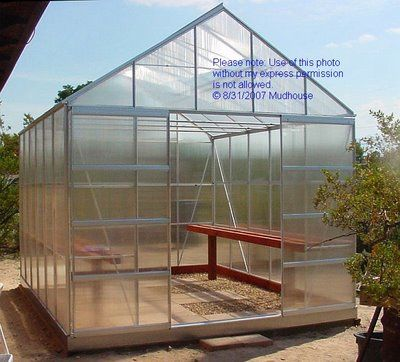 Building A Harbor Freight 10 X 12 Greenhouse Greenhouse Plans Greenhouse Greenhouse Kit