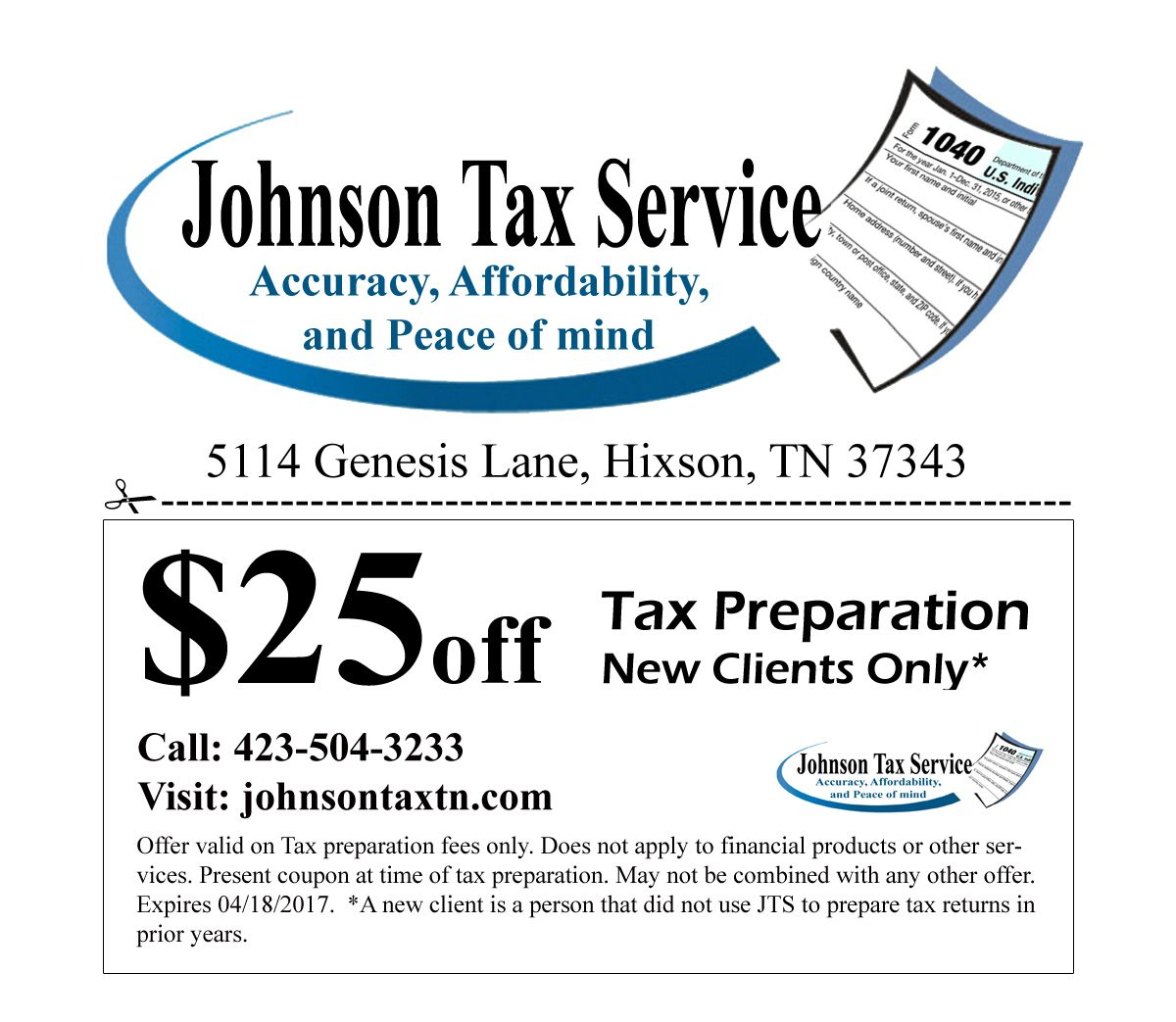 Pin by Johnson Tax Service on Tax Tax services