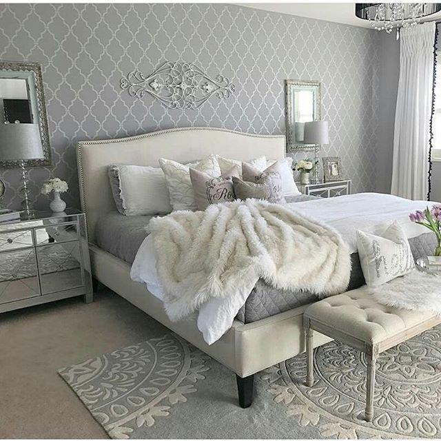 Home Design68 Credit Kimberlyshadoff Heminspiration Homedecorations Decorations Interior Glamourous Bedroom Glamorous Design Classy