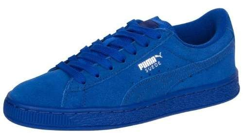 724837a642a Puma Kids Suede Jr Monaco Blue 355110-71 4 US