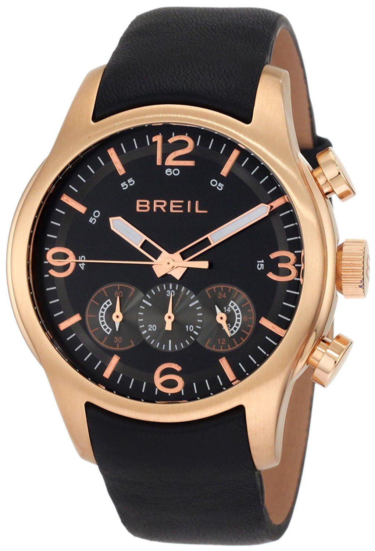 Breil Milano Men S Tw0775 New Globe Rose Gold Chronograph Screwed