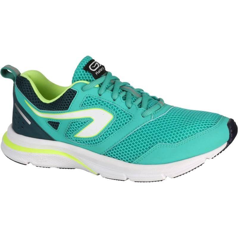 1654506cec Női futócipő Run Active, zöld KALENJI | DECATHLON | Shoes, Sneakers ...
