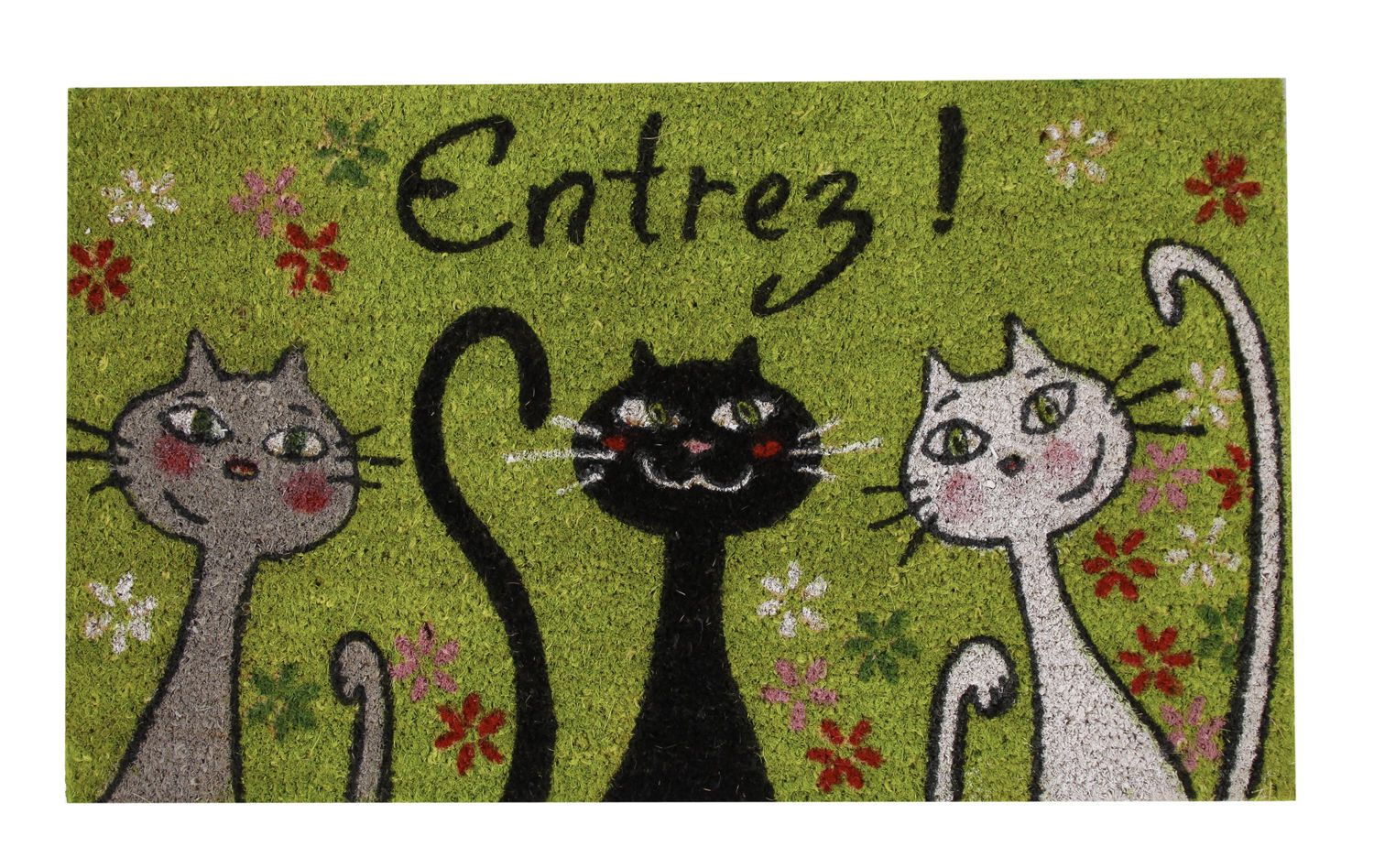 without porch mats mat statue get to decor ready the front and halloween your how breaking cat welcome matching bank