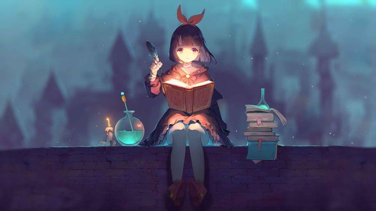Nightcore We Ll Meet Again Youtube Cute Anime Wallpaper Witch Wallpaper Anime Wallpaper Anime cute moving wallpaper