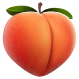 Pin By Sonnaya On Tattoo Ideas Ios Emoji Emoji Peach Fruit