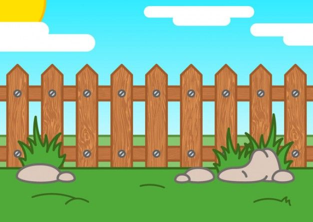 Download Cartoon Picket Fence For Free Free Vector Art Vector Free Picket Fence