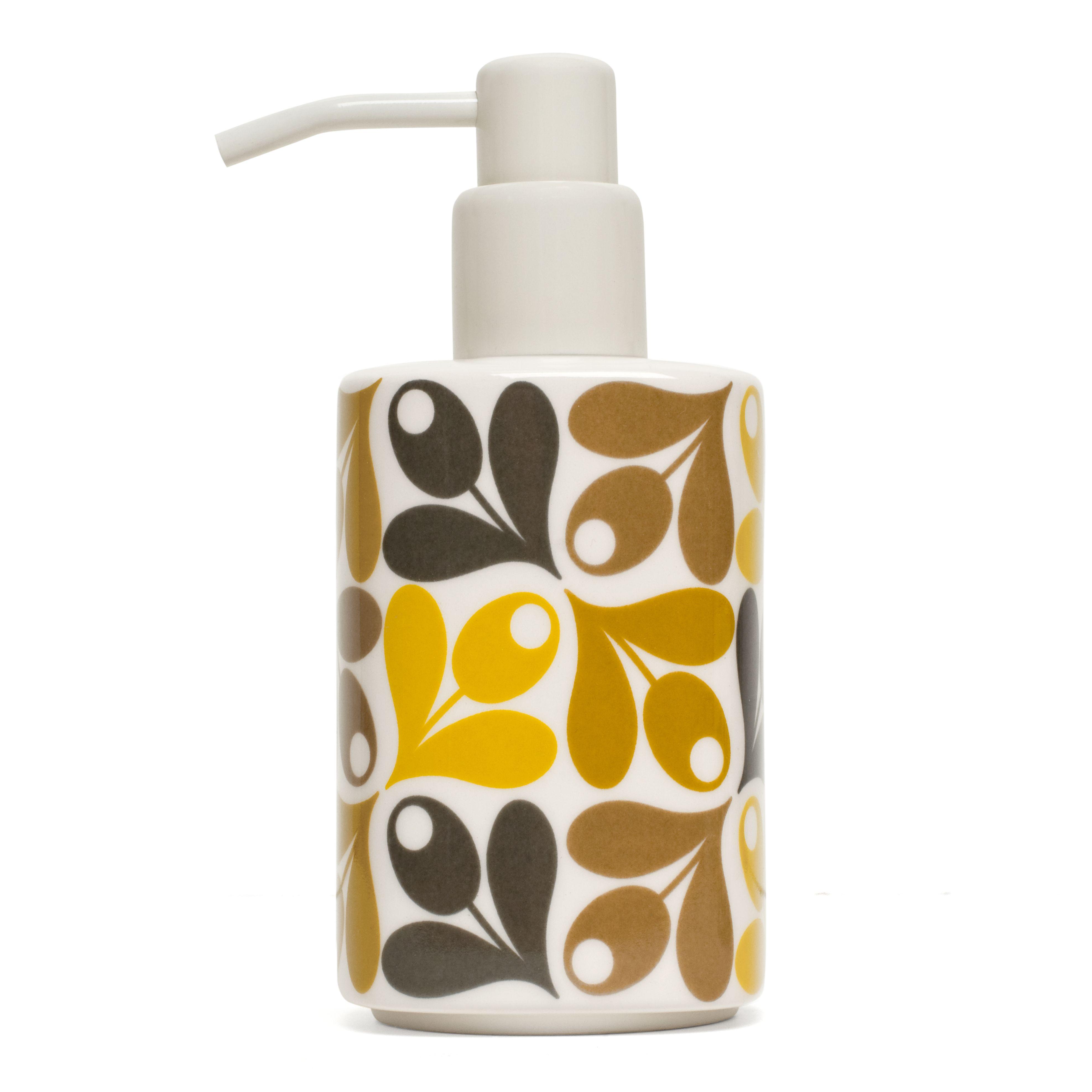 Orla Kiely Soap Dispenser Acorn Cup, Bliss Home | Bathroom ...