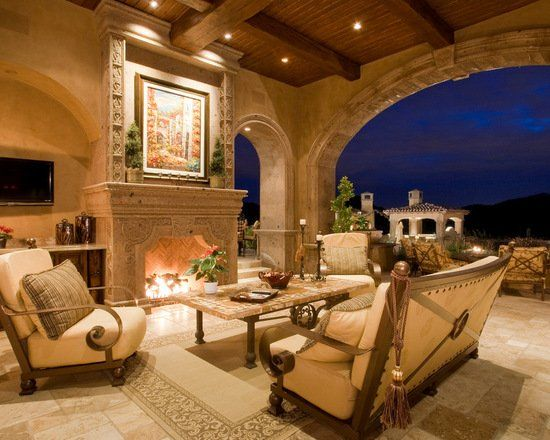 18 Stunning Patio Design Ideas in Tuscan Style #backpatio
