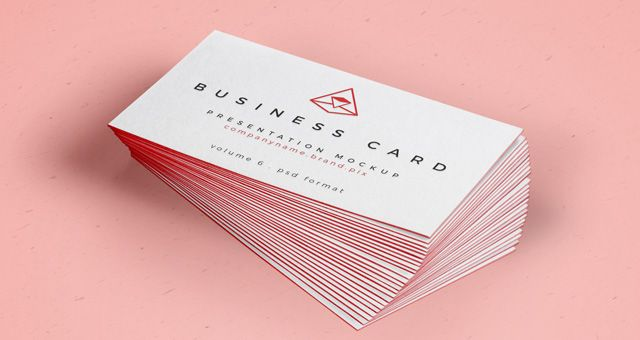 Free psd business card mock up vol26 mockup business cards and this is a free psd business card mockup to let you display your next business card design you can set the card border color and use our smart layer reheart Gallery