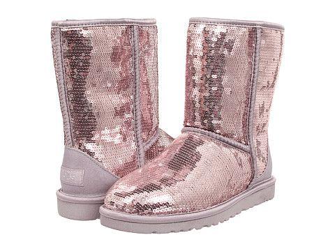ugg boots Classic short II lila