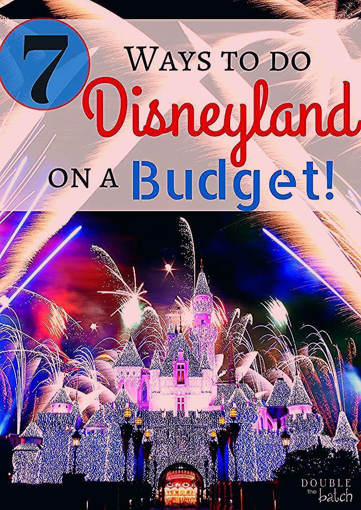 7 Ways to do Disneyland on a Budget - Uplifting Mayhem