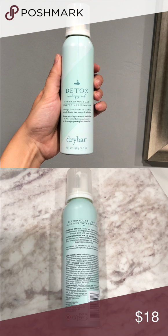 Drybar Detox Whipped Dry Shampoo Foam Travel Duo 1 Used Once And Have Been Open Dry Bar Makeup Dry Shampoo Detox Whips