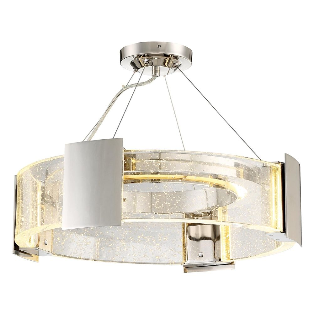 Metropolitan Lighting Stellaris Collection Led Semi Flush