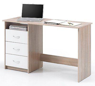 Schreibtisch Computertisch Burotisch Kinderschreibtisch Eiche Sonoma Weiss 161205sparen25 Com Sparen25 De Sparen25 Info Schreibtisch Mobel Boss Arbeitstisch