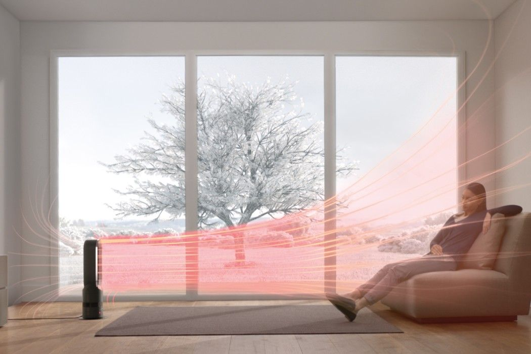The Genius New Dyson Hot Fan Heater No Blades Bedroom Heater