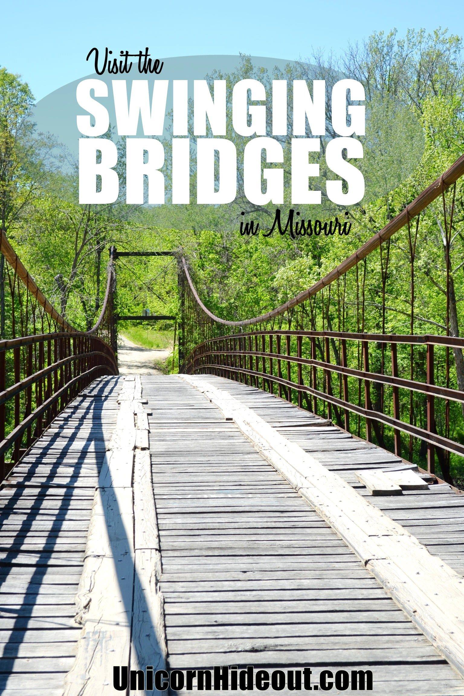 Swinging bridges of brumley